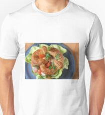 Dinkel-Sesam-Breze mit geräucherter Lachsforelle T-Shirt
