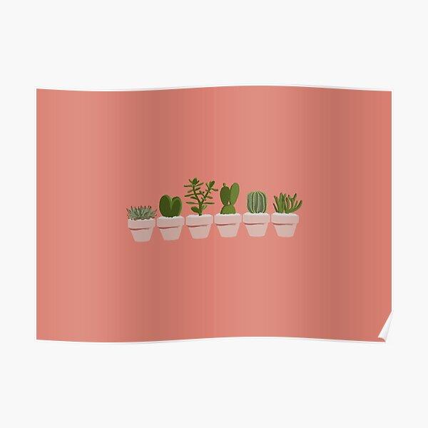 Cacti & Succulent Poster