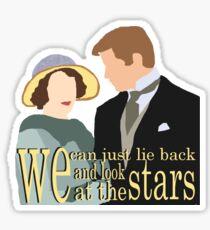 DA: Sybil e Tom + quote Sticker