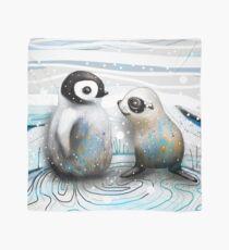 Pinguin-Küken und Baby-Dichtung Tuch