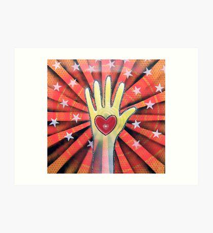 """ HAND OF FATE "" Art Print"