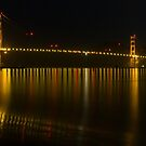 Golden Gate Reflection by Paul Campbell  Photography