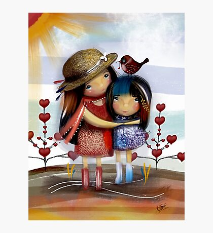 Love and Friendship Photographic Print