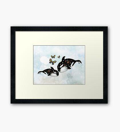 Ocean of Love Framed Print