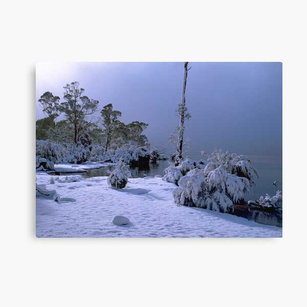 Lake St Clair, Winter, Tasmania Canvas Print