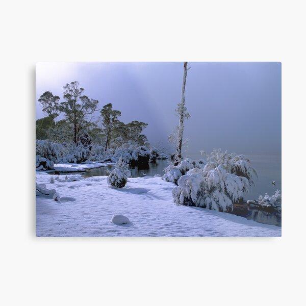 Lake St Clair, Winter, Tasmania Metal Print