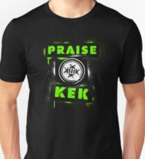 Praise KEK -spray paint- Unisex T-Shirt