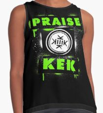 Praise KEK -spray paint- Contrast Tank