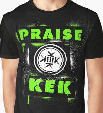 Praise KEK -spray paint- Graphic T-Shirt