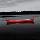 The Red Canoe by Martha Medford
