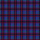 Jewel-Toned Plaid by Valerie Hartley Bennett