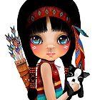 Native Girl by Karin Taylor