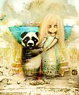 Panda and Snowdrop by Karin Taylor