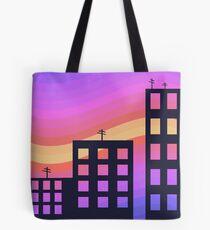City dawn Tote Bag