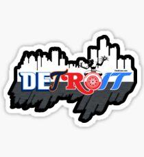 Detroit Sports City Sticker