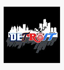 Detroit Sports City Photographic Print