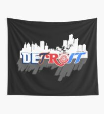 Detroit Sports City Wall Tapestry