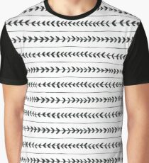 Laurel stripe - back and forth Graphic T-Shirt