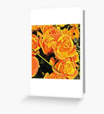 Roses for Companionship Greeting Card
