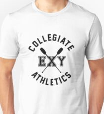 Collegiate Athlectics - Exy (black) Unisex T-Shirt