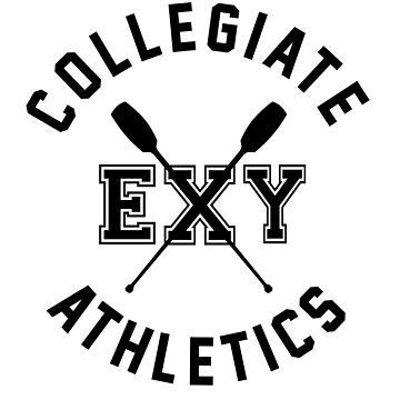 Collegiate Athlectics - Exy (black) by Kitshunette