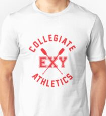 Collegiate Athlectics - Exy (red) Unisex T-Shirt