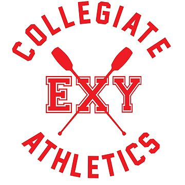 Collegiate Athlectics - Exy (red) by Kitshunette