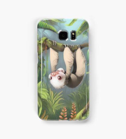 Sloth with Baby Samsung Galaxy Case/Skin