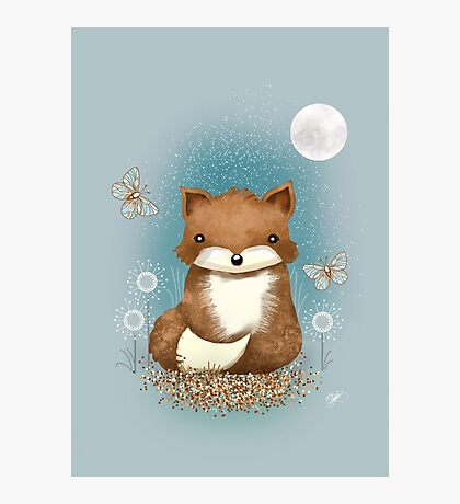 Baby Fox Photographic Print