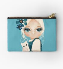 Snow Kitten Studio Pouch