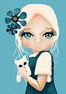 Snow Kitten by Karin Taylor