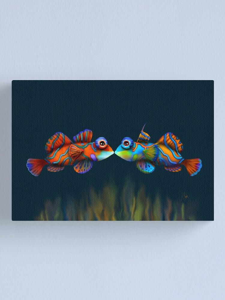 Alternate view of Mandarinfish Canvas Print
