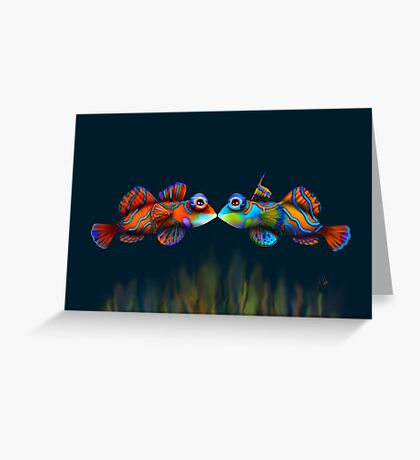 Mandarinfish Greeting Card