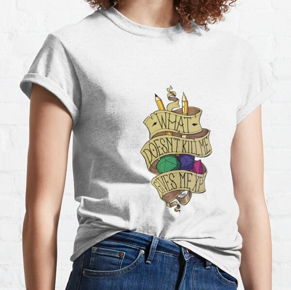 Lo que no me mata Camiseta clásica
