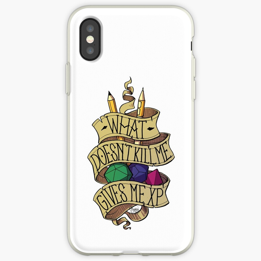 What doesn't Kill me iPhone Case & Cover
