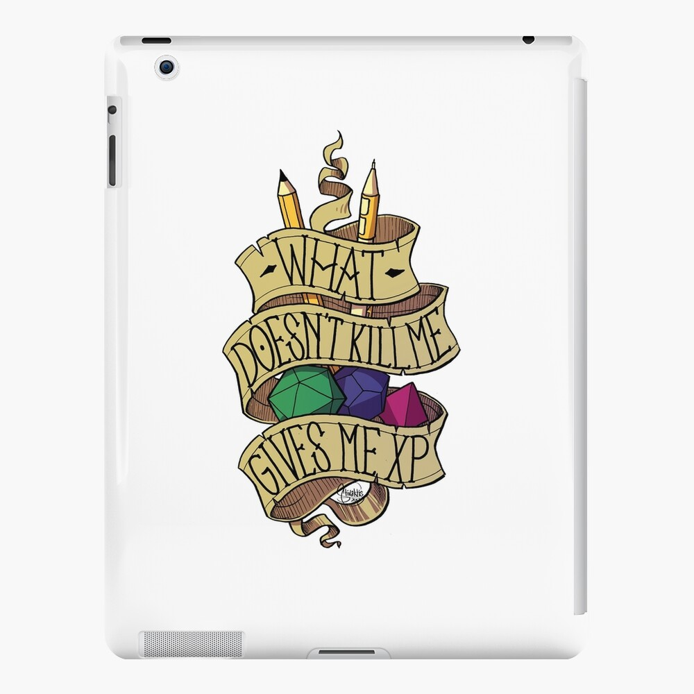 What doesn't Kill me iPad Case & Skin