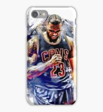 lebron splash iPhone Case/Skin