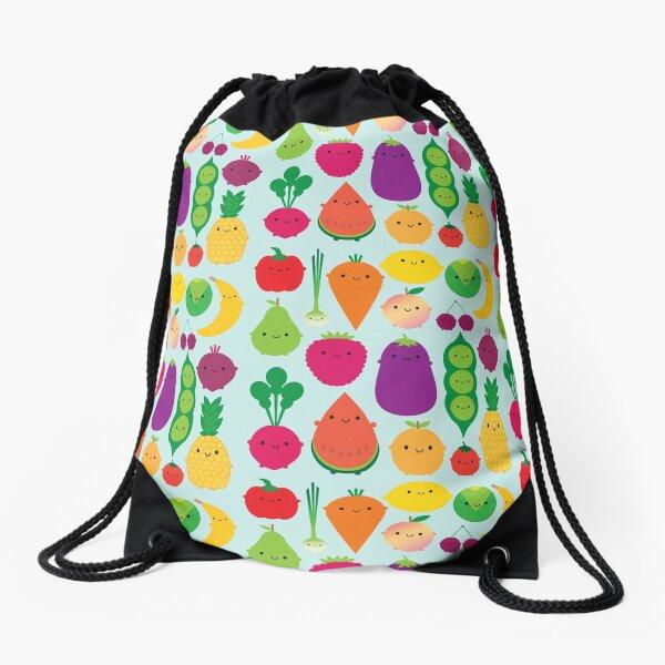 5 A Day Fruit & Vegetables Drawstring Bag