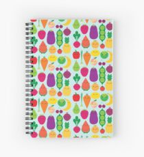 5 A Day Fruit & Vegetables Spiral Notebook