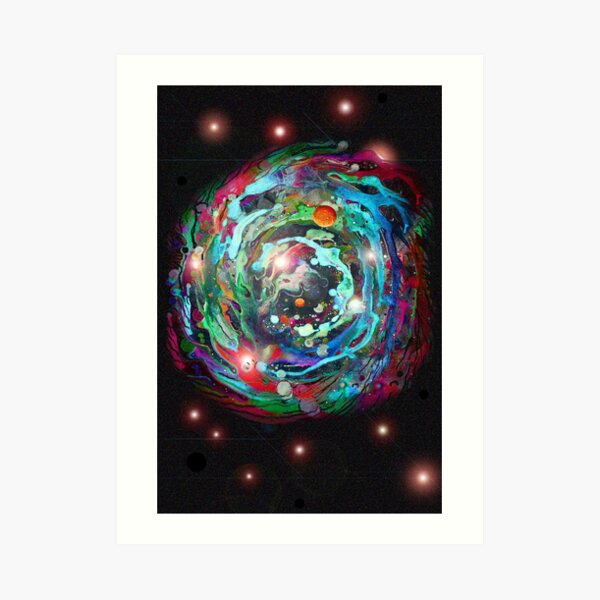 Psychedelic SPACE... 2 Art Print