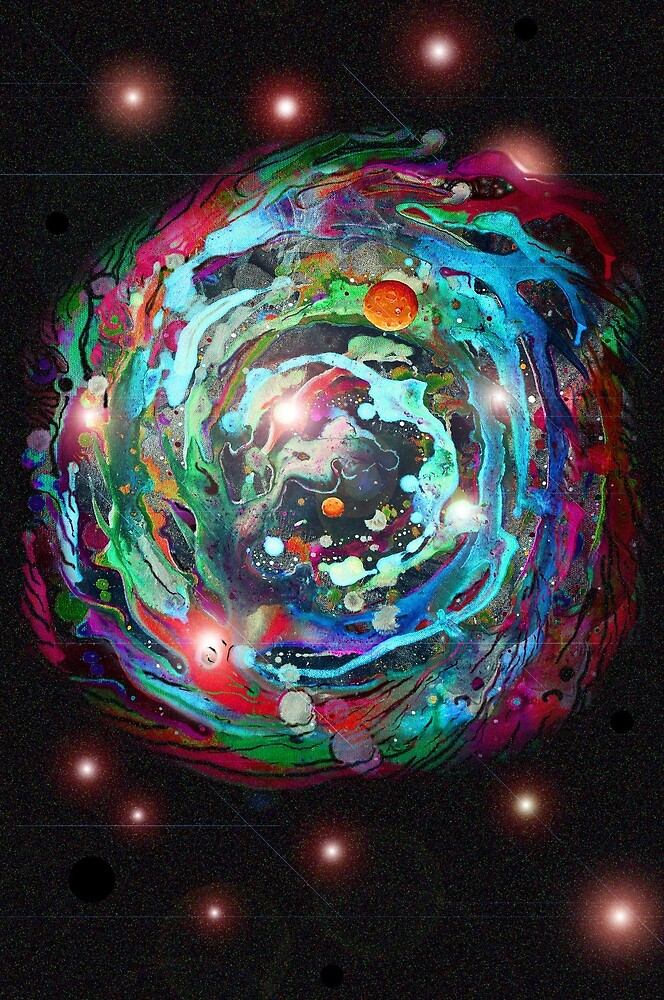 Psychedelic SPACE... 2 by James Lewis Hamilton