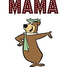Mother mam day gift, cartoon funny Mum design by chiplanay