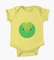 Kawaii Brussels Sprout / Cabbage One Piece - Short Sleeve
