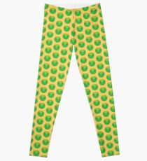 Kawaii Brussels Sprout / Cabbage Leggings