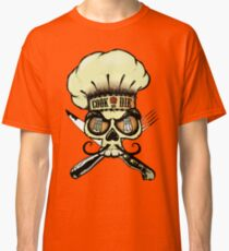 Cook or die!Chef's skull Classic T-Shirt