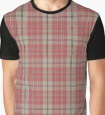 Pink and White | Scottish Clan Tartan  Graphic T-Shirt