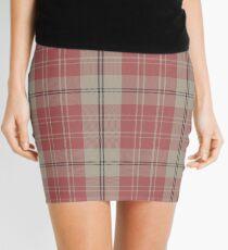 Pink and White | Scottish Clan Tartan  Mini Skirt