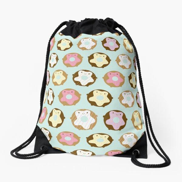 Kawaii Donuts Drawstring Bag