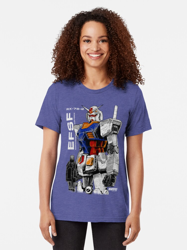 Alternative Ansicht von Gundam Vintage T-Shirt