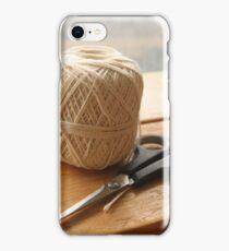 String & Scissors  iPhone Case/Skin
